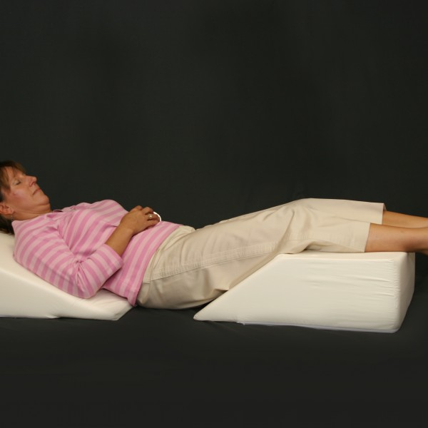 BR - Bed & Leg Wedges Regular - Joan Laying Down